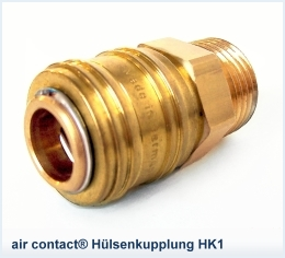 air contact® Hülsenkupplung HK1